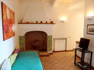 Apartment with 2 rooms in Barbarano Romano, with wonderful city view and WiFi