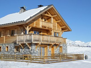 Chalet with 5 rooms in la toussuire, with wonderful mountain view