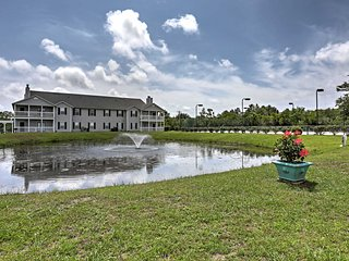 The Colony Club at Drake's Landing condominium complex has several tranquil ponds that attract all sorts of wildlife.