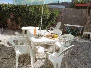 Idyllic house nestled in garden