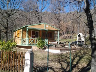 Chalet with 2 bedrooms in Ghisoni, with pool access, furnished terrace and WiFi