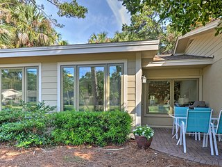 Remodeled Sea Pines Resort Villa on Golf Course!
