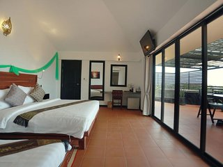 Deluxe Family Suite with Private Balcony - Free Pick Up
