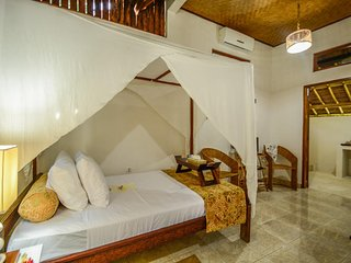 Aashaya Jasri Resort Villa Kolam B Double Room.