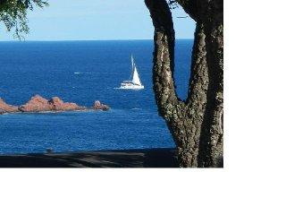 mobil home avec une superbe vue sur mer