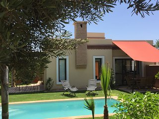 Villa privee au calme dans region d'Agadir, piscine, 2 chambres, jardin