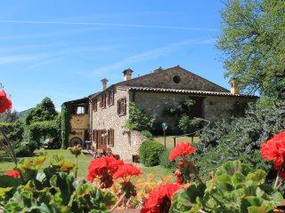 Country House Il Biroccio a Urbino. Dependance 'Poiana' 6 pax. Vista panoramica!