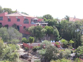 Large Villa on the hillside, Sea & Gibraltar view, private pool