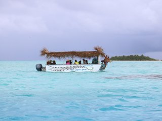 Ru's Lagoon Cruise - Glass Bottom Boat Aitutaki