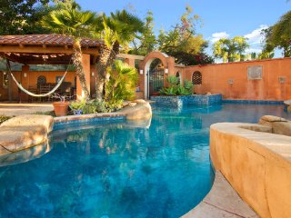 Breathtaking sunsets in Vista California house with a pool, skate ramp, firepit,