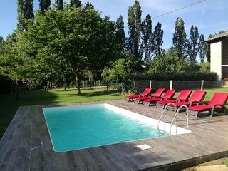 Location avec piscine pres de St Emilion