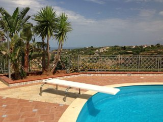 Villa DREAM panoramic view with private POOL