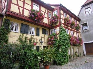 In der Altstadt von Rothenburg ob der Tauber wohnen und wohlfuhlen!