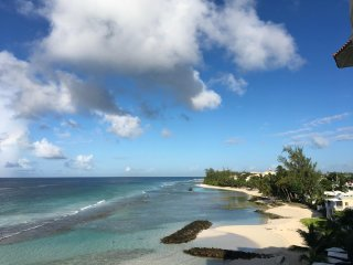 Barbados Beach Front two Bedroom Apartment with Fantastic Views