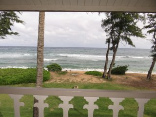 Kauai Kapaa #351 Oceanfront condo Vacation Rental condo by owner OCEAN !!