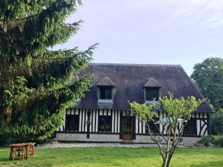 Discover the Heart of Normandy Honfleur Deauville charming home large garden