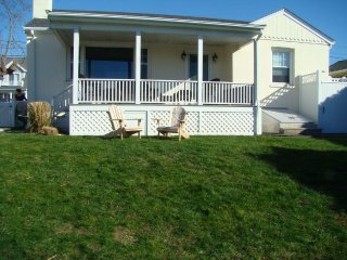 Water views, Walk to First Beach, 4BR, 2 full BA home, fenced in yard