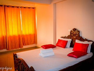 Luxury 1 BHK/BR Suite by trip4goa Palolem