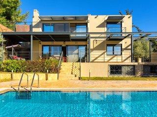 New listing!Villa with Private Pool near Sounio