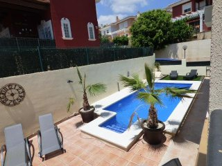 Villa Aitana, beautiful villa, private pool and sleeping 11 people.  Free WIFI