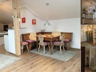 Appartement Laurus 'am Forggensee' in einem Bungalow mit eigenem Zugang