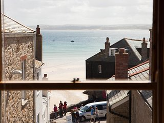 Apartment 1 - Custom House,  Central St Ives - Sleeps 4 with Sea Views