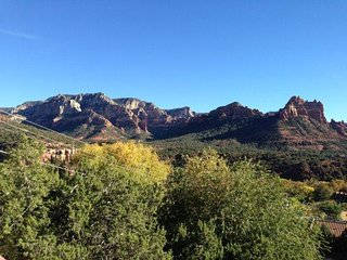 Beautiful Uptown Home sits `above` Scenic Sedona and takes full advantage of
