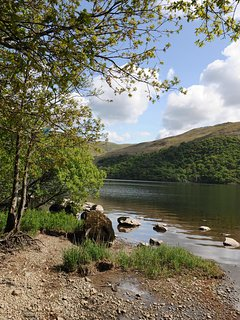 Down by the lake at Ullswater