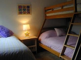 Twin over Full Bunk with an extra twin bed