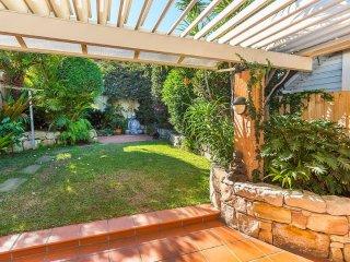 Zen garden, Bondi beach abode
