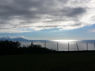 Suite dans fare tahitien. Panorama d'exception!