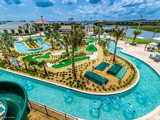NEW 5 BR/Ensuite home w/ private pool in Luxury Resort w/ Lazy River from $213nt
