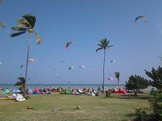 Agreable sejour ,magnifique F2 bas de villa,proche plage Pointe Faula,Vauclin