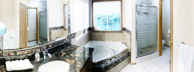 Master bedroom washroom