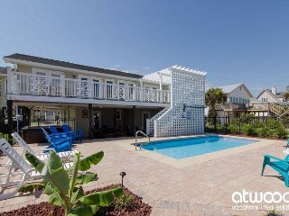 Edisto Oasis - Private Pool, Hot Tub, Beach/Ocean Front!