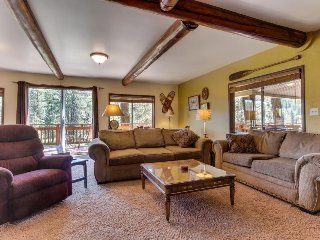 Spacious lakefront home w/ private dock, two large decks & modern home comforts!