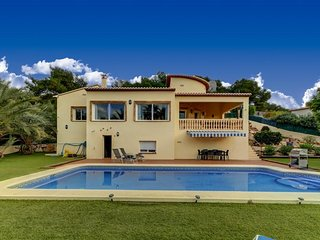 Villa Corriol in Javea, with air conditioning, swimming pool and WIFI