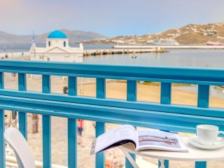 Studio with sea view  at the heart of Mykonos!!!