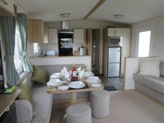 Luxury 3 Bedroom Caravan - brand new for summer 2017