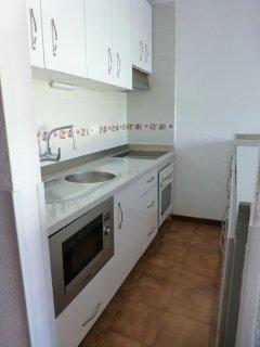 Newly refitted kitchen with plenty of storage
