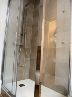 Master bathroom's shower