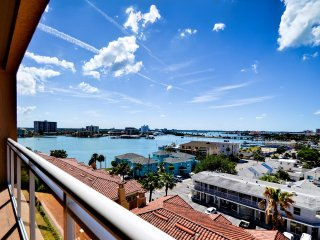 Belle Harbor 703W Charming Condo with Partial Water View