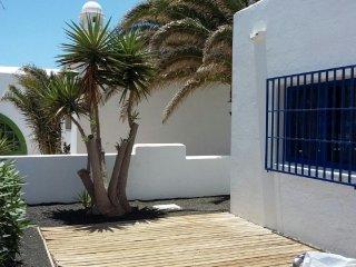 Casa en primera linea de playa, Lanzarote