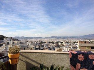 Beautiful terrace apartment