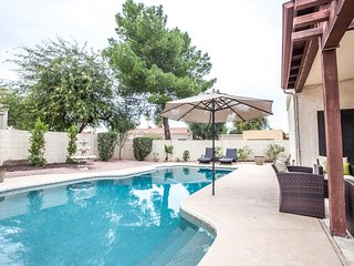 NEW! 'Santiago Villa' Scottsdale Vacation Home. 2 Master Suites with Pool!