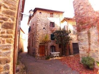 La Torre di Nella, immerso nelle colline toscane fra Arezzo Siena e Firenze.
