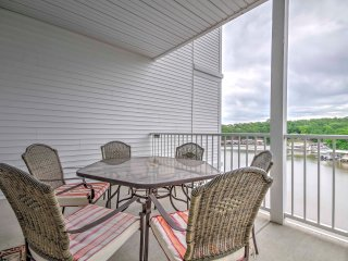 Waterfront Osage Beach Condo w/ Balcony & Views!
