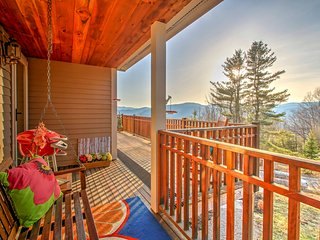New! 4BR Jackson House w/ Deck & Mountain Views!