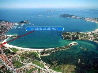 Entorno privilegiado Baiona Rias Baixas (Islas Cies al fondo)