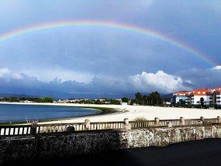 Piso a 10 metros de Playa Ladeira Baiona renovado 2017
